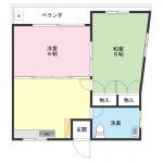 ハピネスハイツ5-D号室